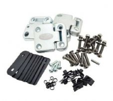 Land Rover Defender - Front Door Hinge Kit + Stainless Steel Fixings - DA1070SS